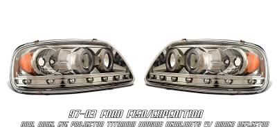 OptionRacing - Ford F150 Option Racing Projector Headlight - 11-18152