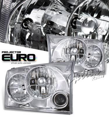 OptionRacing - Ford Superduty Option Racing Projector Headlight - 11-18154