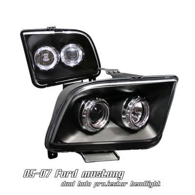 OptionRacing - Ford Mustang Option Racing Projector Headlight - 11-18158