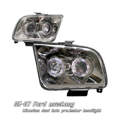 OptionRacing - Ford Mustang Option Racing Projector Headlight - 11-18160