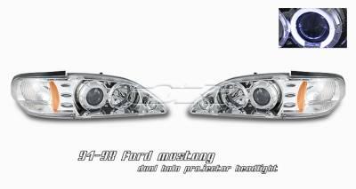 OptionRacing - Ford Mustang Option Racing Projector Headlight - 11-18171