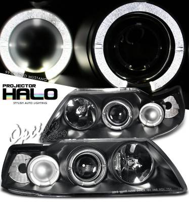 OptionRacing - Ford Mustang Option Racing Projector Headlight - 11-18293