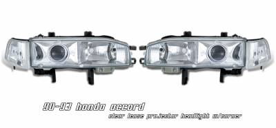 OptionRacing - Honda Accord Option Racing Projector Headlight - 11-20180