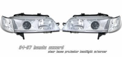 OptionRacing - Honda Accord Option Racing Projector Headlight - 11-20182