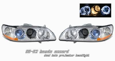 OptionRacing - Honda Accord Option Racing Projector Headlight - 11-20186