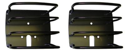 Omix - Rugged Ridge Euro Guard Kit - Tail Light Guard - Black - 11226-01