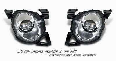 OptionRacing - Lexus SC Option Racing Projector Headlight - 11-29212