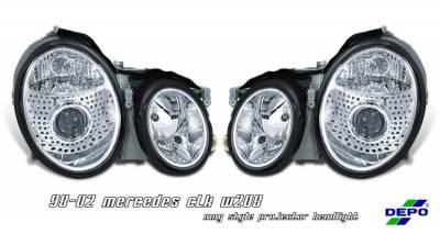 OptionRacing - Mercedes-Benz CLK Option Racing Projector Headlight - 11-32214