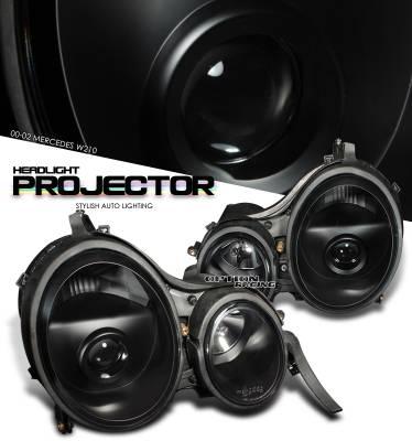 OptionRacing - Mercedes-Benz E Class Option Racing Projector Headlight - 11-32225
