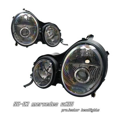 OptionRacing - Mercedes-Benz E Class Option Racing Projector Headlight - 11-32231