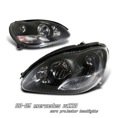 OptionRacing - Mercedes-Benz E Class Option Racing Projector Headlight - 11-32232