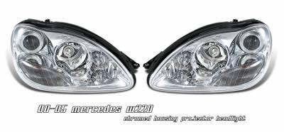 OptionRacing - Mercedes-Benz S Class Option Racing Projector Headlight - 11-32233