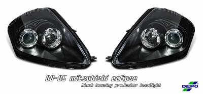 OptionRacing - Mitsubishi Eclipse Option Racing Projector Headlight - 11-35236