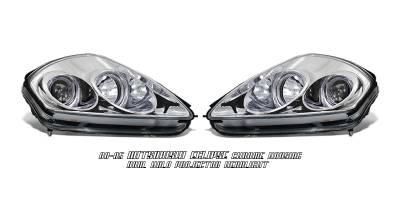 OptionRacing - Mitsubishi Eclipse Option Racing Projector Headlight - 11-35238