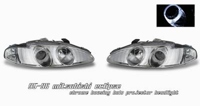 OptionRacing - Mitsubishi Eclipse Option Racing Projector Headlight - 11-35240