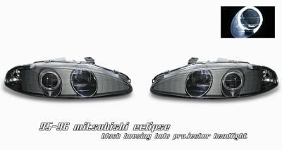 OptionRacing - Mitsubishi Eclipse Option Racing Projector Headlight - 11-35241