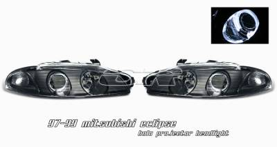 OptionRacing - Mitsubishi Eclipse Option Racing Projector Headlight - 11-35242