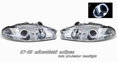 OptionRacing - Mitsubishi Eclipse Option Racing Projector Headlight - 11-35244