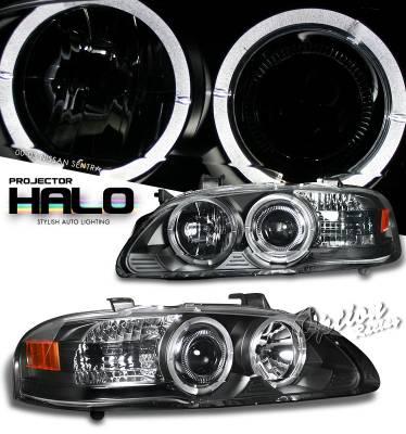 OptionRacing - Nissan Sentra Option Racing Projector Headlight - 11-36306