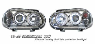 OptionRacing - Volkswagen Golf Option Racing Projector Headlight - 11-45261