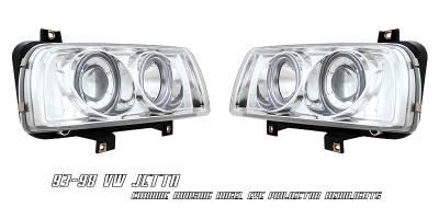 OptionRacing - Volkswagen Jetta Option Racing Projector Headlight - 11-45267
