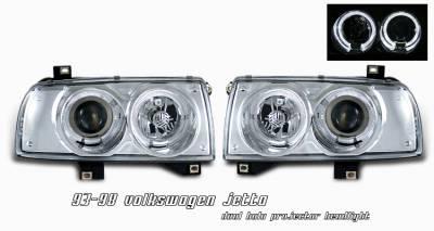 OptionRacing - Volkswagen Jetta Option Racing Projector Headlight - 11-45270