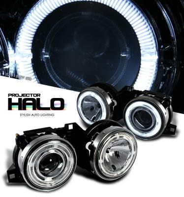 OptionRacing - BMW 3 Series Option Racing CCFL Projector Headlight - 12-12104