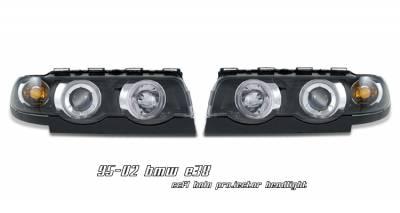 OptionRacing - BMW 7 Series Option Racing CCFL Projector Headlight - 12-12107