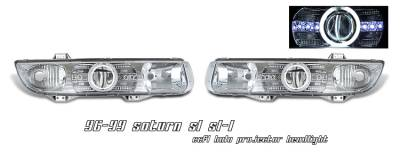 OptionRacing - Saturn SL Option Racing CCFL Projector Headlight - 12-40127