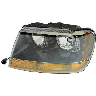 Omix - Omix Headlight Assembly - Left - 12402-09