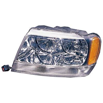 Omix - Omix Headlight Assembly - Left - 12402-11