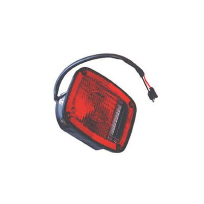 Omix - Omix Tail Light - Black - Left - 12403-03
