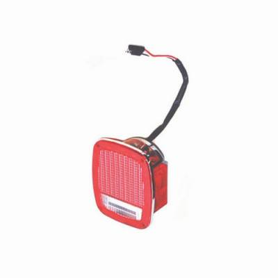Omix - Omix Tail Light - Chrome - 12403-09