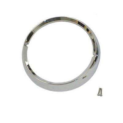 Omix - Omix Headlight Bezel - Chrome - 12419-03