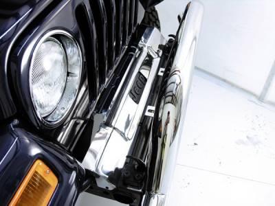 Omix - Omix Headlight Bezel - Black - 12419-23