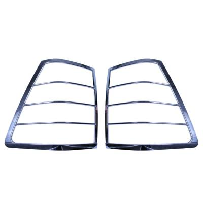 Omix - Omix Tail Light Trim Cover - Chrome - Pair - 13310-21