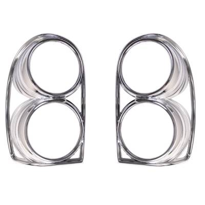 Omix - Omix Tail Light Trim Cover - Chrome - Pair - 13310-31
