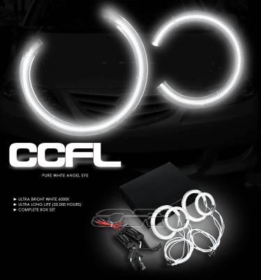 OptionRacing - Mazda 6 Option Racing CCFL Halo Ring for Headlights - 13-31112