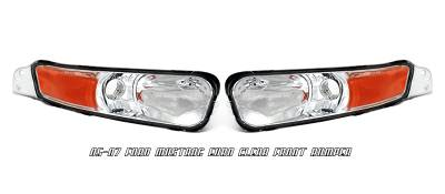 OptionRacing - Ford Mustang Option Racing Bumper Light - 16-18104