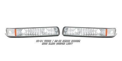 OptionRacing - GMC Sierra Option Racing Bumper Light - 16-19106
