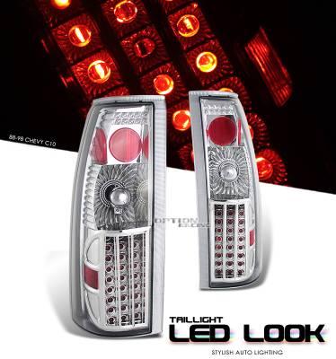 OptionRacing - GMC Yukon Option Racing LED Look Taillight - 17-15126