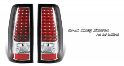 OptionRacing - Chevrolet Silverado Option Racing LED Taillight - 17-15139