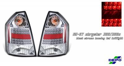 OptionRacing - Chrysler 300 Option Racing Taillight - 17-16151