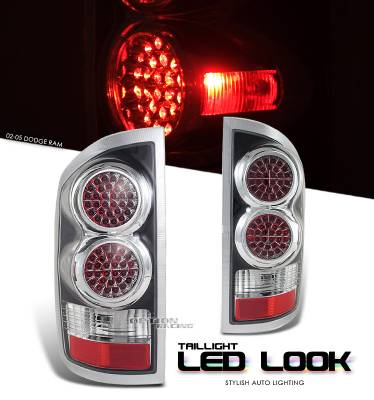 OptionRacing - Dodge Ram Option Racing LED Look Taillight - 17-17176