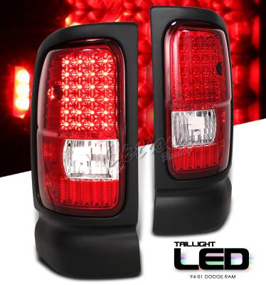OptionRacing - Dodge Ram Option Racing LED Taillight - 17-17180