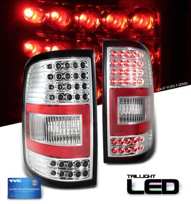 OptionRacing - Ford F150 Option Racing LED Taillight - 17-18210