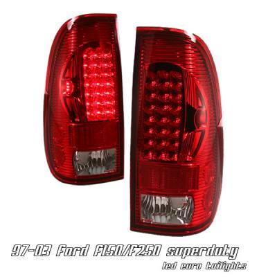 OptionRacing - Ford F150 Option Racing LED Taillight - 17-18212