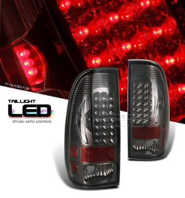 OptionRacing - Ford F150 Option Racing LED Taillight - 17-18214