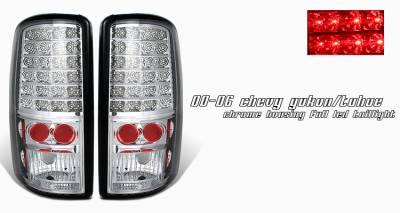 OptionRacing - Chevrolet Suburban Option Racing LED Taillight - 17-19245