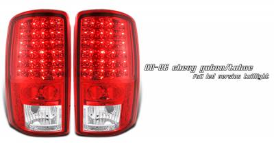 OptionRacing - Chevrolet Tahoe Option Racing LED Taillight - 17-19246